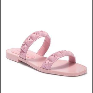 Rosita Slide Rubber Sandal Dusty Pink